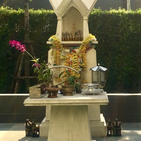 Another memorial for King Bhumibol.
